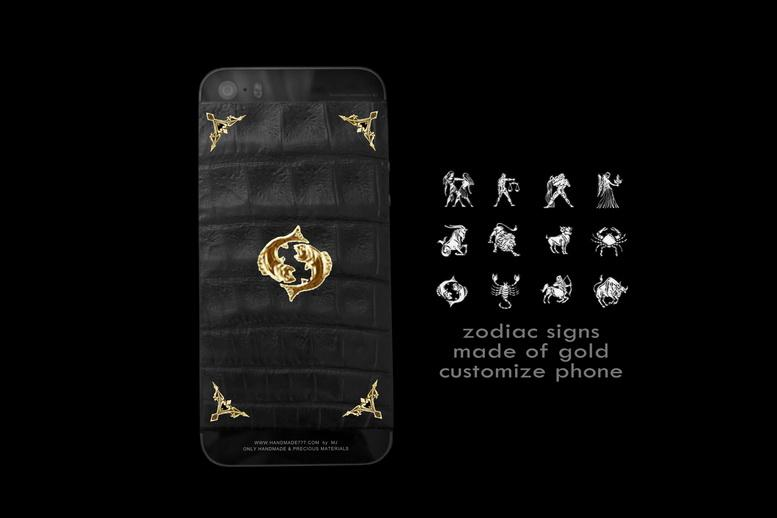 MJ Customize APPLE LUXURY EDITION - Gold, Diamonds, Leather